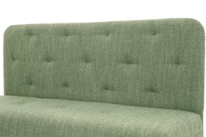 Прямой диван Лето (120) Orion Green Текстура ткани