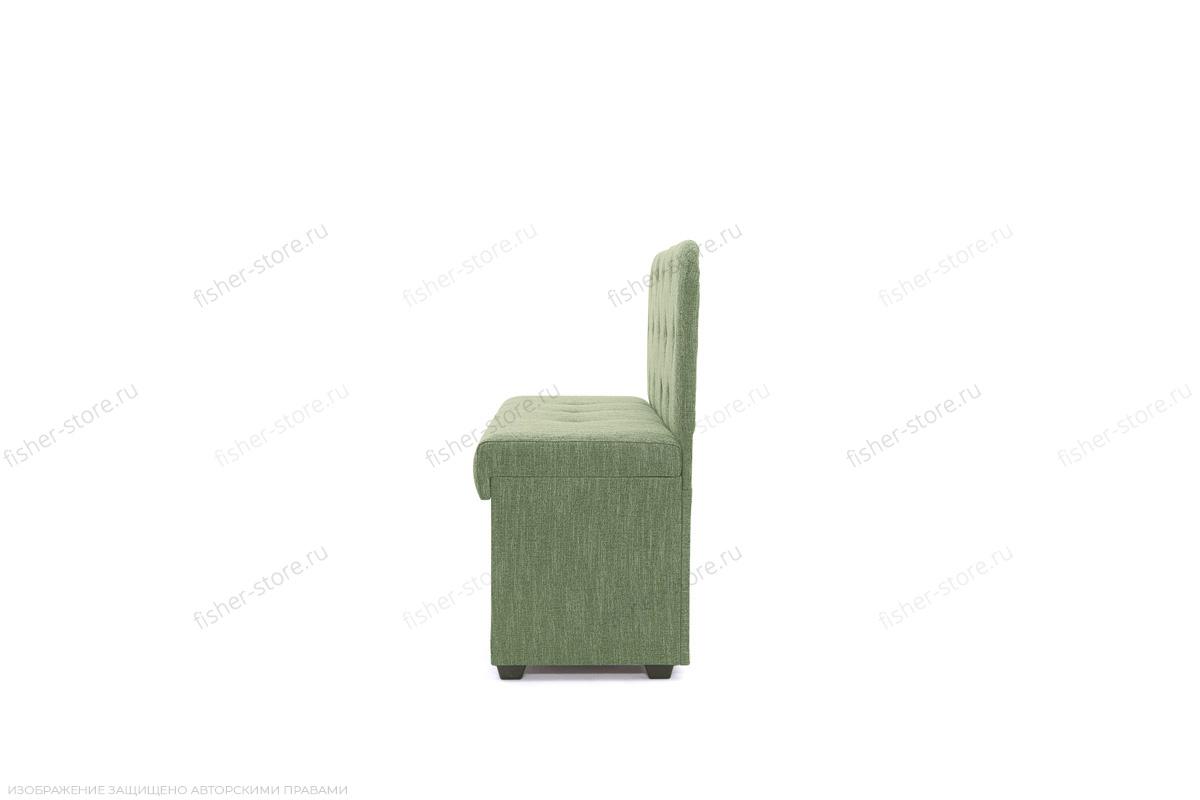 Прямой диван Лето (120) Orion Green Вид сбоку