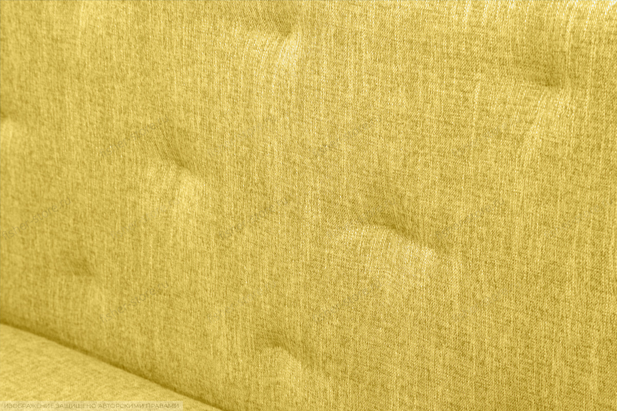 Прямой диван Лето (120) Orion Mustard Текстура ткани
