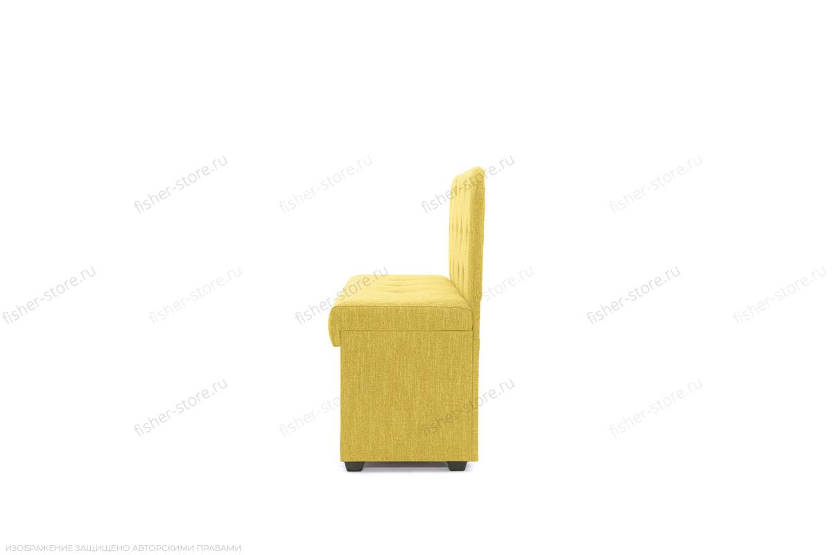 Прямой диван Лето (120) Orion Mustard Вид сбоку