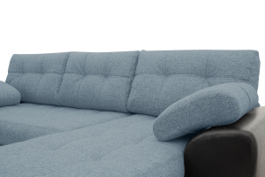 Угловой диван Император-2 Dream Blue Подушки