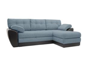 Угловой диван Император-2 Dream Blue Вид по диагонали