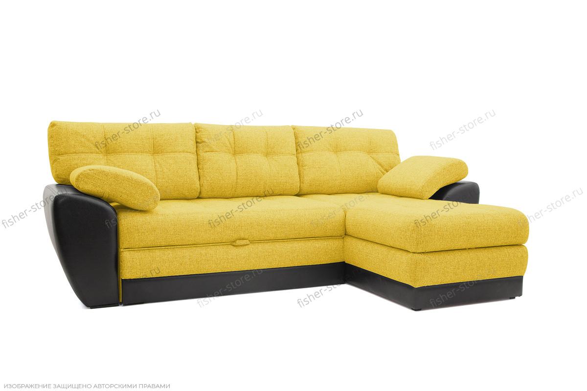 Угловой диван Император-2 Dream Yellow Вид по диагонали
