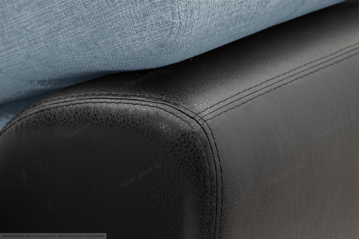 Угловой диван Император-2 Dream Blue Текстура ткани