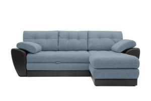 Угловой диван Император-2 Dream Blue Вид спереди