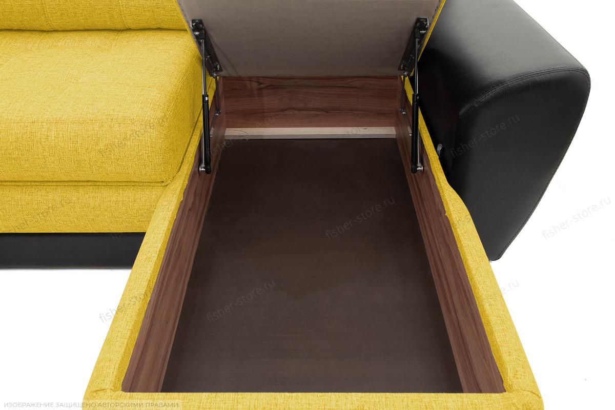 Угловой диван Император-2 Dream Yellow Ящик для белья