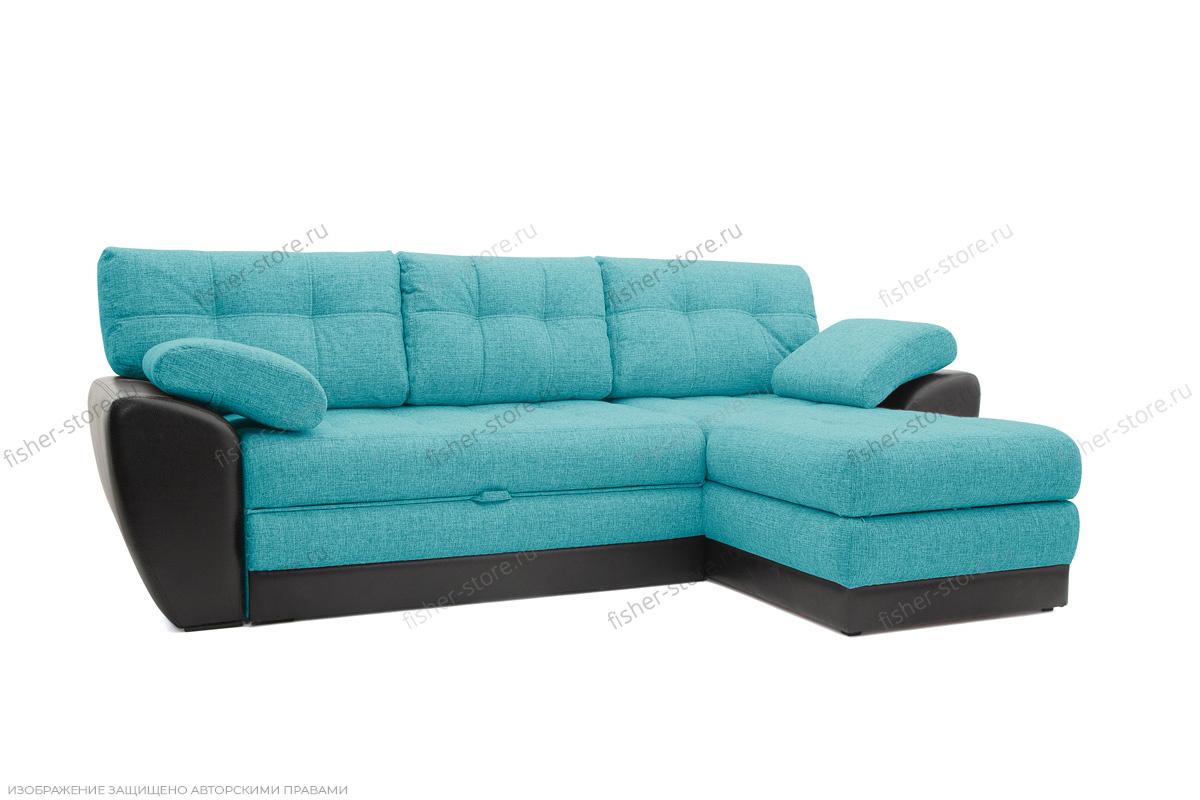 Двуспальный диван Император-2 Dream Azure Вид по диагонали