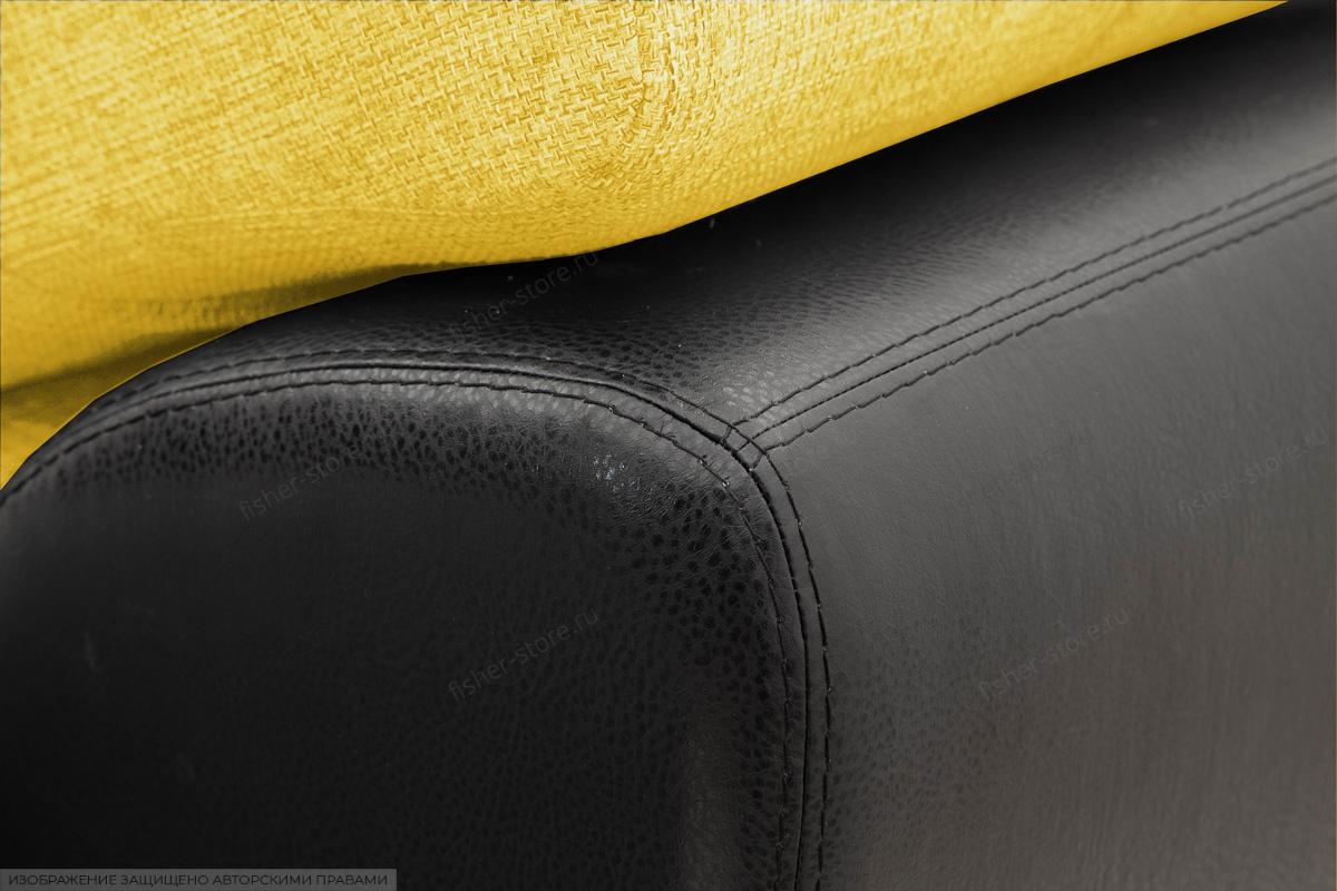 Угловой диван Император-2 Dream Yellow Текстура ткани