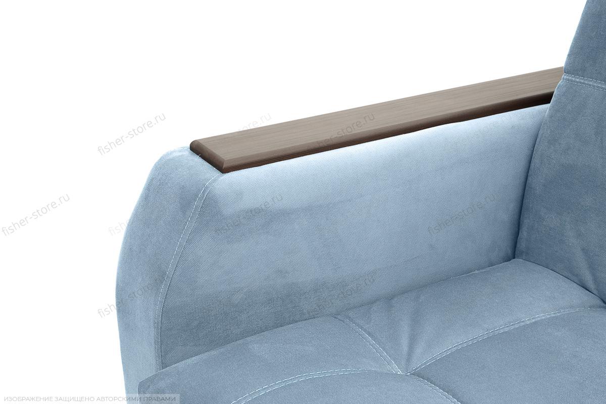 Прямой диван Ява-5 Amigo Blue Подлокотник