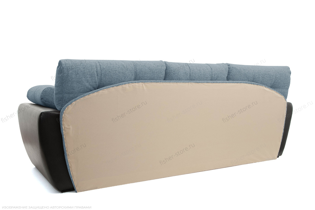 Угловой диван Император-2 Dream Blue Вид сзади