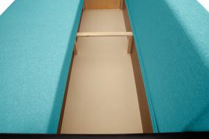 Прямой диван Амстердам эконом Dream Azure Ящик для белья