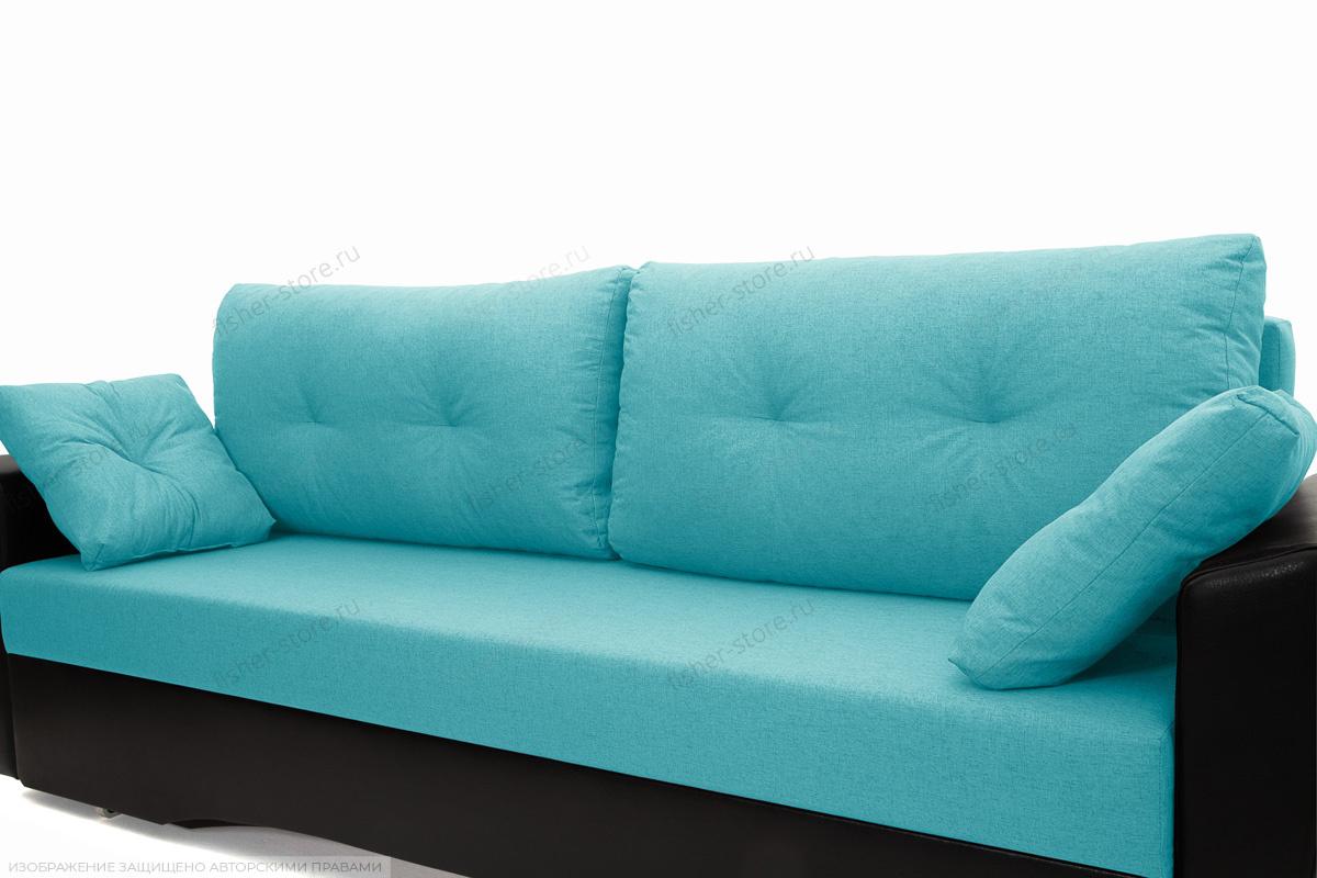 Прямой диван Амстердам эконом Dream Azure Подушки