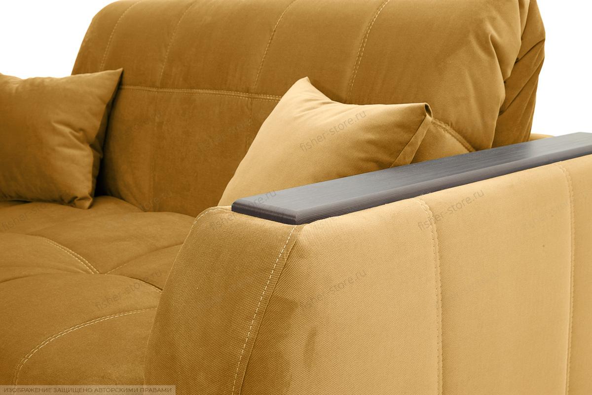 Прямой диван Ява-5 Amigo Yellow Подушки