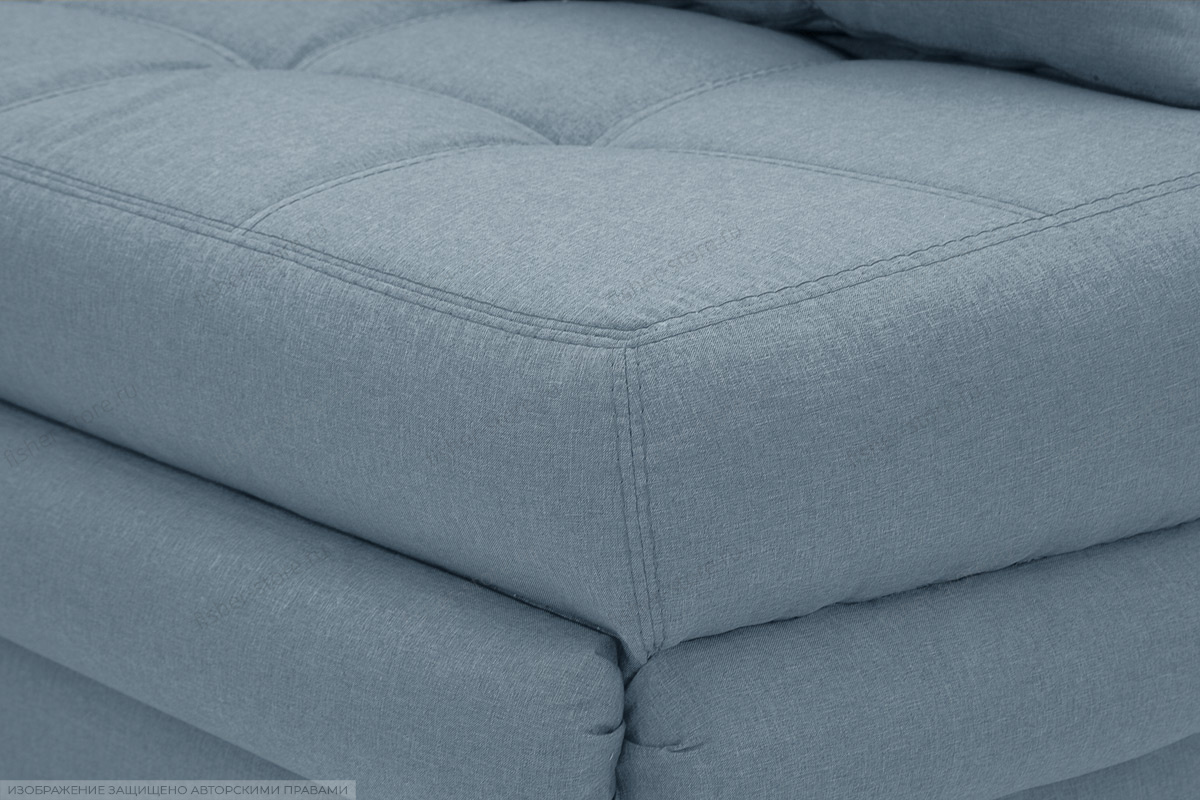 Угловой диван Мираж Dream Blue Текстура ткани