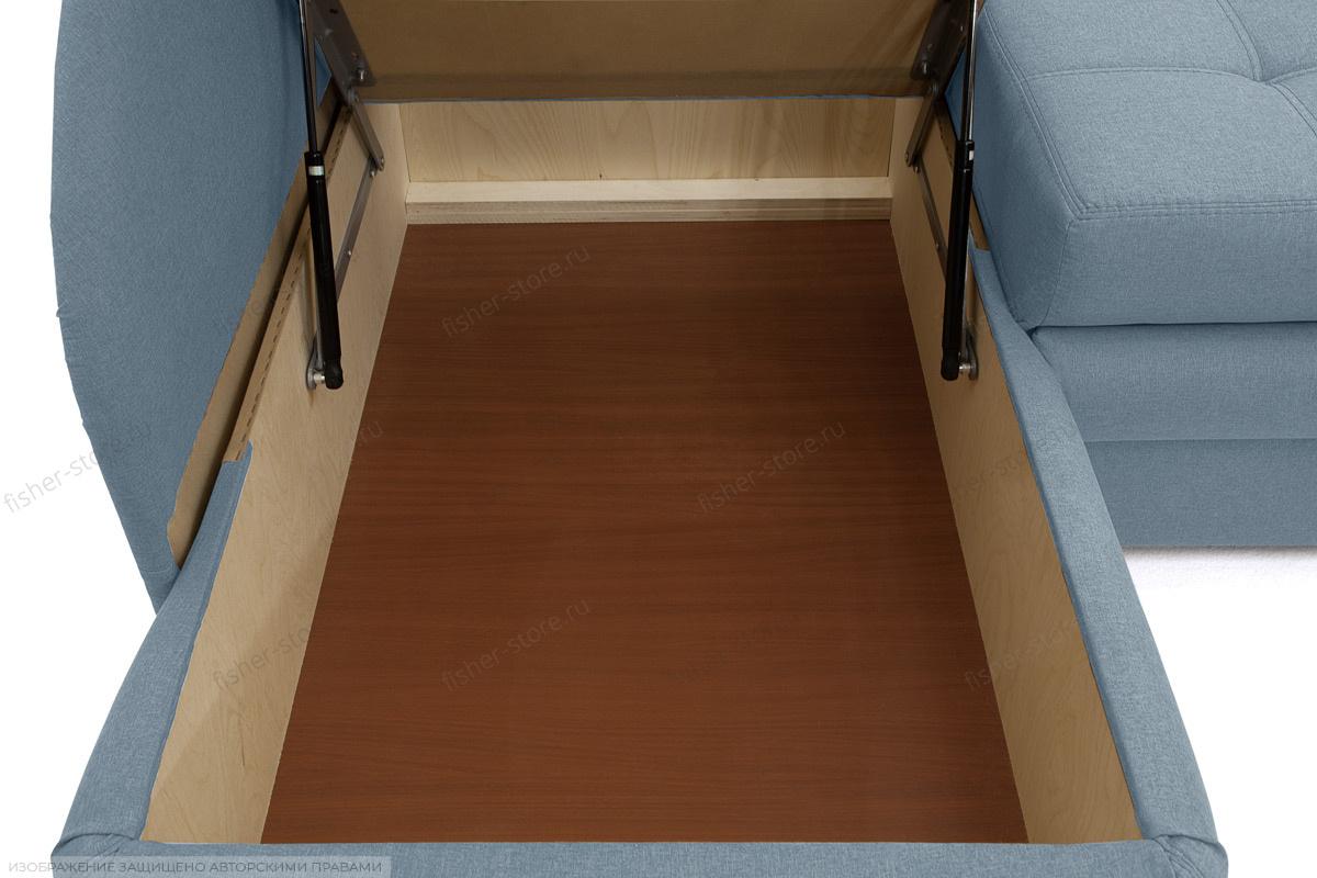 Угловой диван Мираж Dream Blue Ящик для белья