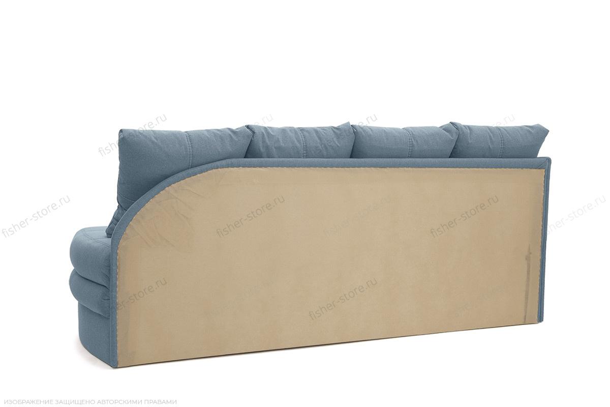 Угловой диван Мираж Dream Blue Вид сзади