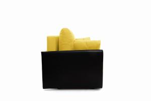 Прямой диван Амстердам эконом Dream Yellow Вид сбоку