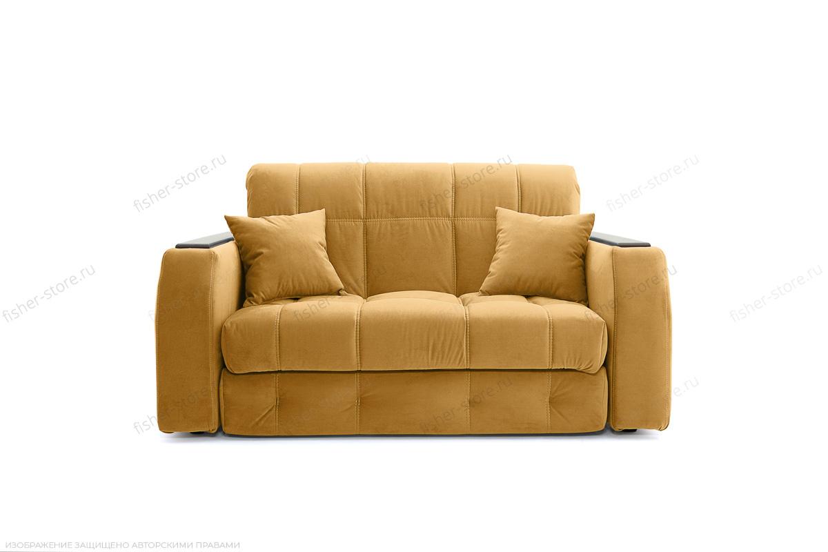Прямой диван Ява-5 Amigo Yellow Вид спереди