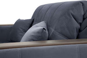 Прямой диван Ява-5 Amigo Navy Текстура ткани