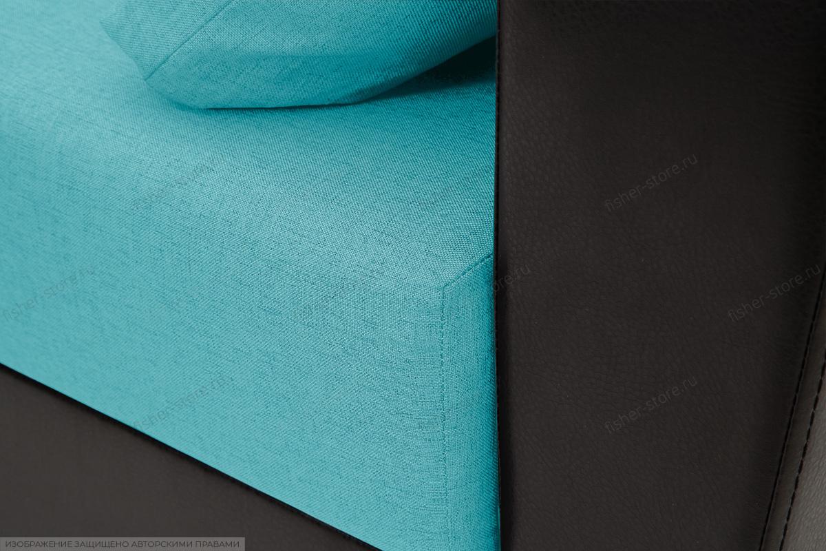 Прямой диван Амстердам эконом Dream Azure Текстура ткани