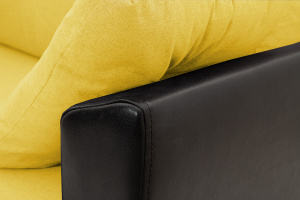 Прямой диван Амстердам эконом Dream Yellow Подлокотник