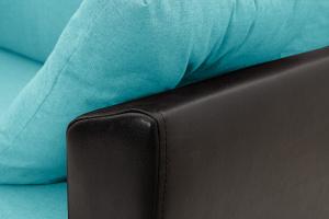Прямой диван Амстердам эконом Dream Azure Подлокотник
