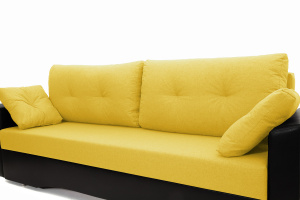Прямой диван Амстердам эконом Dream Yellow Подушки