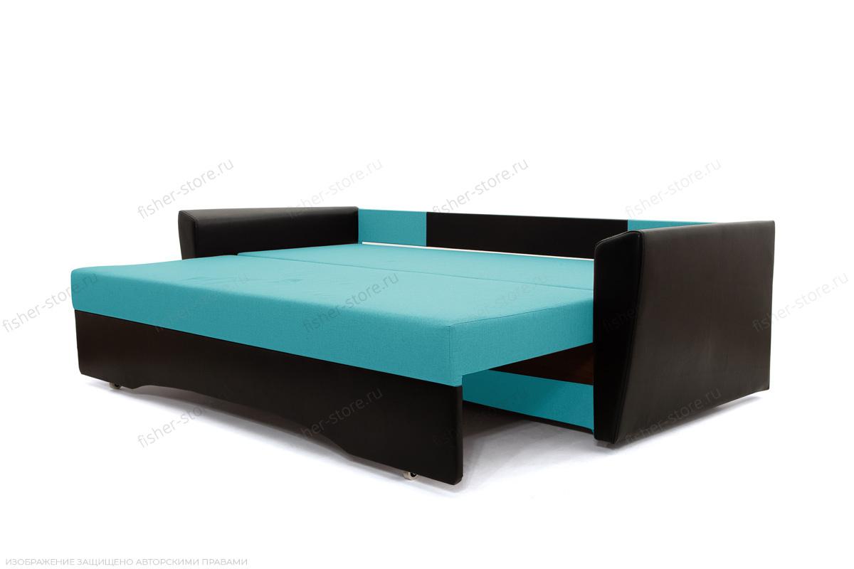 Прямой диван Амстердам эконом Dream Azure Спальное место