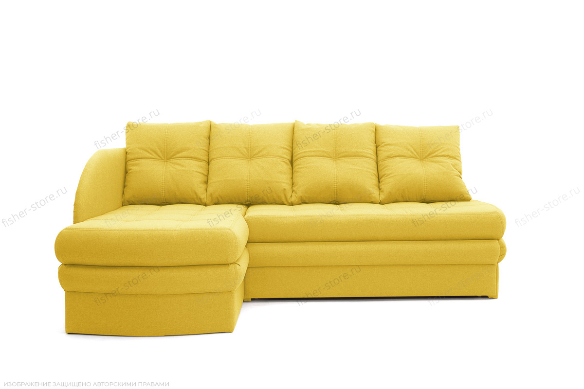 Угловой диван Мираж Dream Yellow Вид спереди
