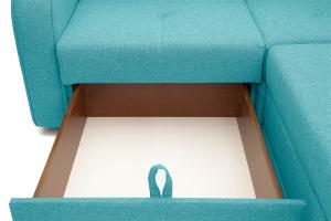 Угловой диван Диана Dream Azure Ящик для белья