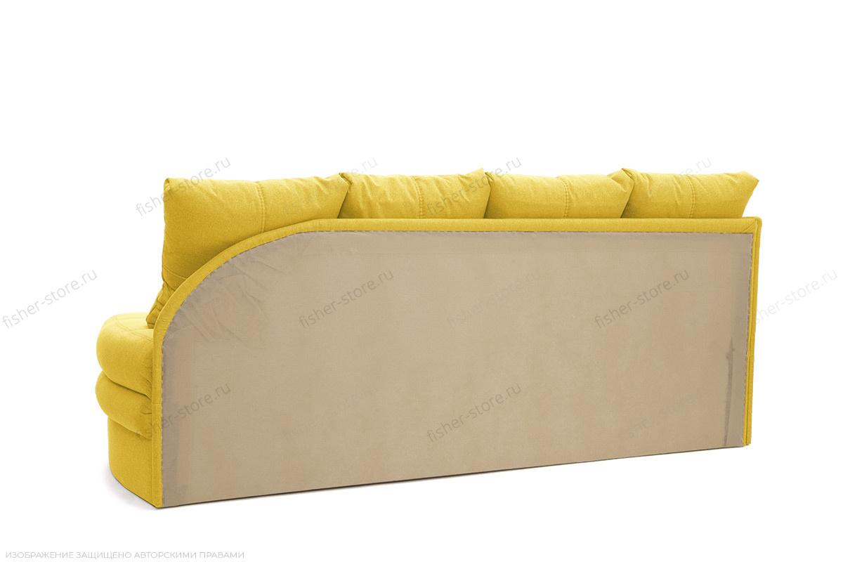 Угловой диван Мираж Dream Yellow Вид сзади