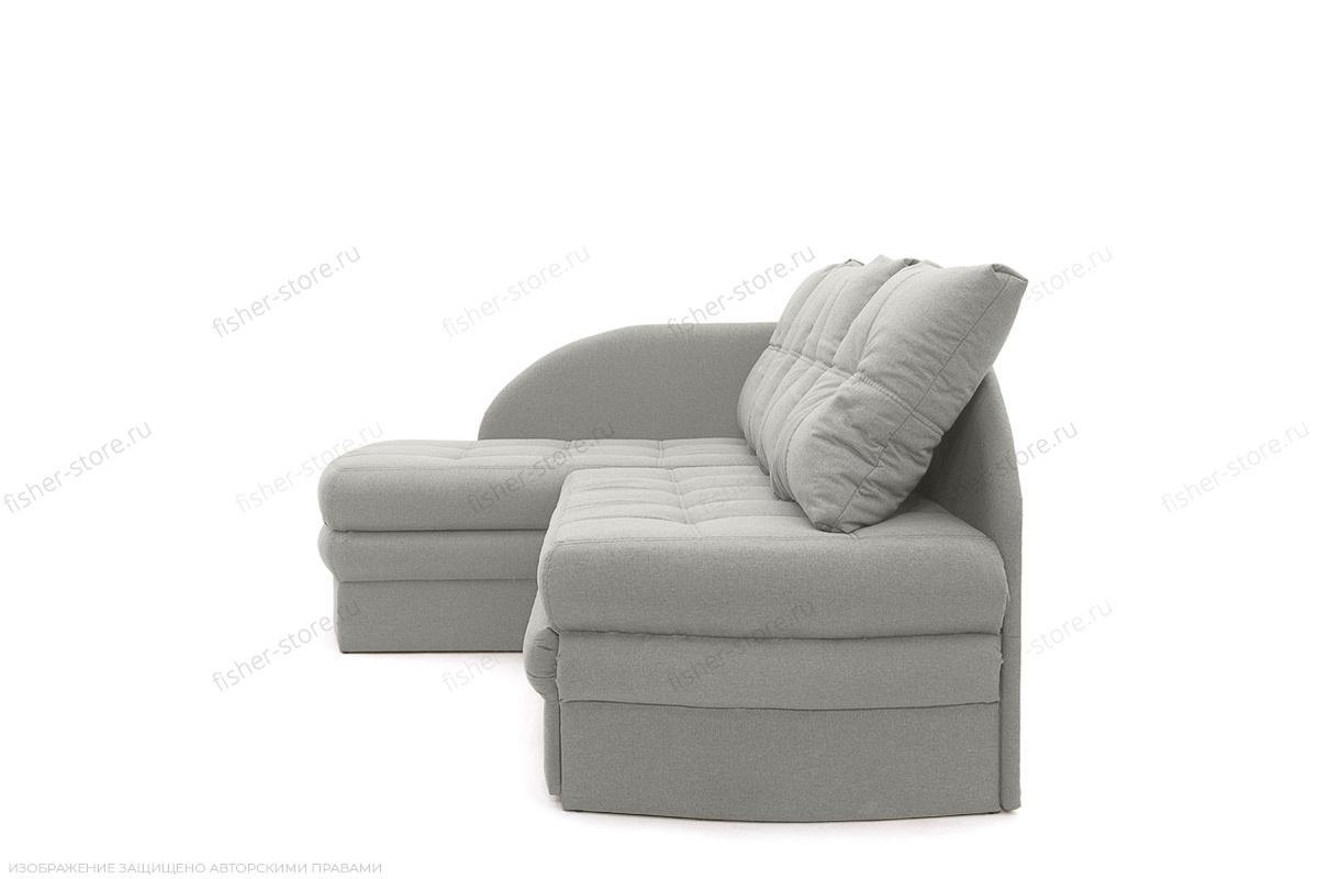 Угловой диван Мираж Dream Light Grey Вид сбоку
