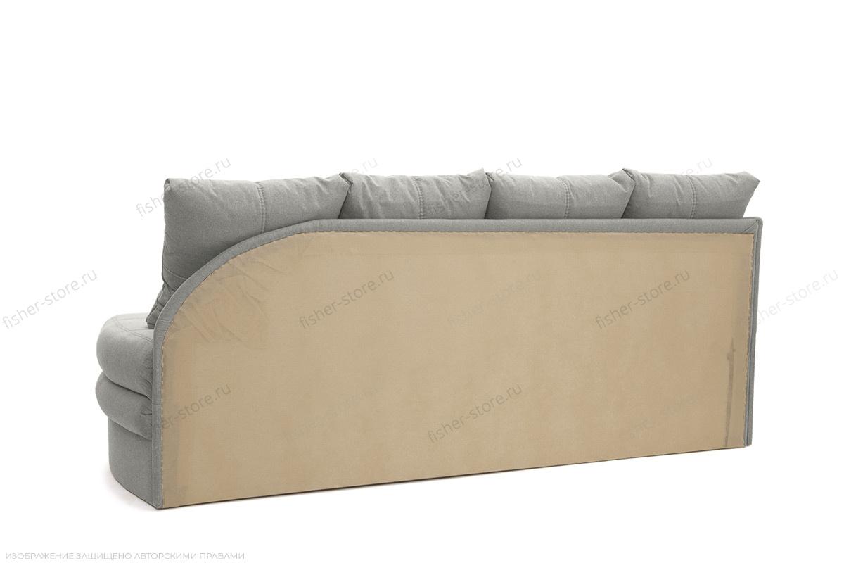 Угловой диван Мираж Dream Light Grey Вид сзади