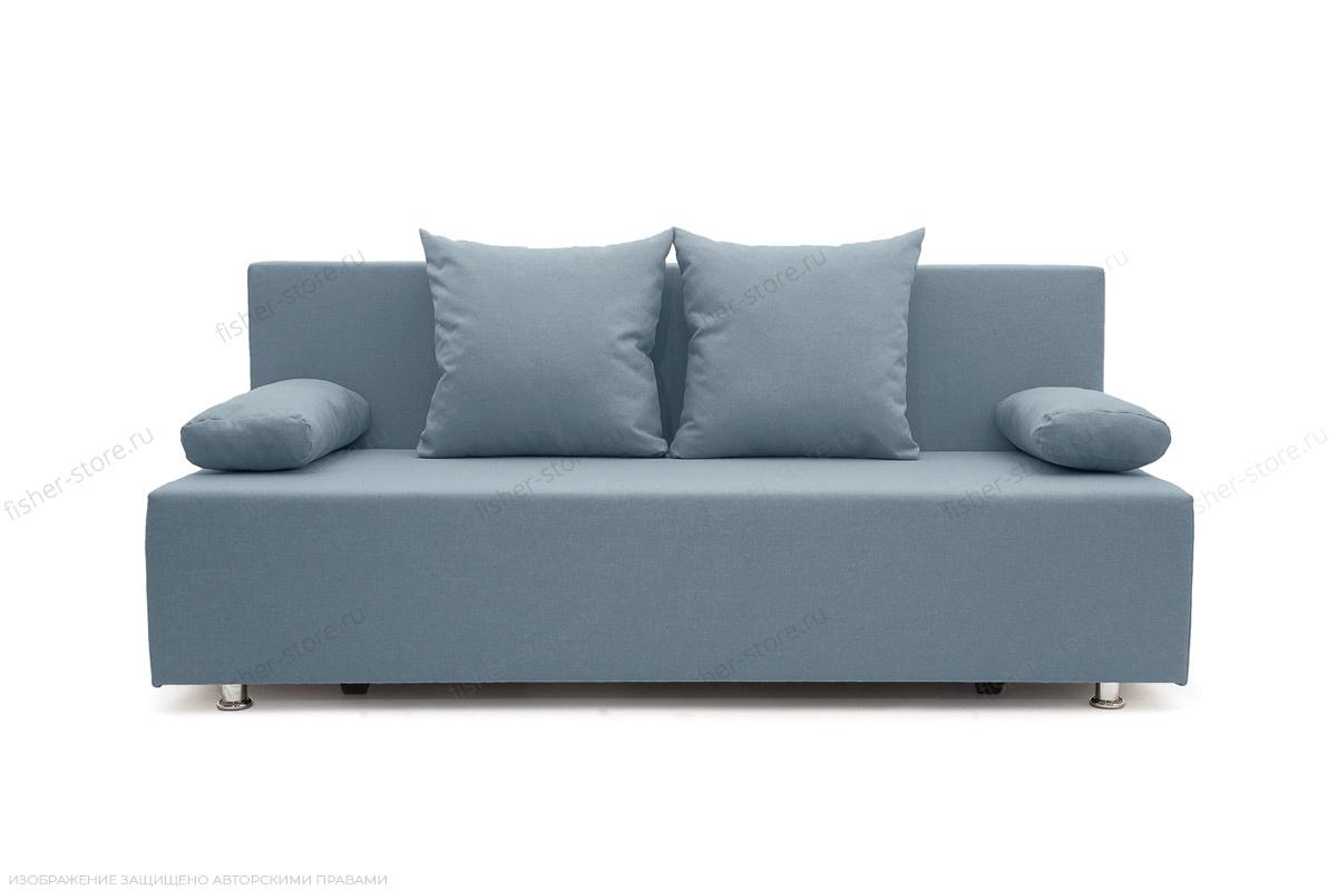 Прямой диван Чарли Dream Blue Вид спереди