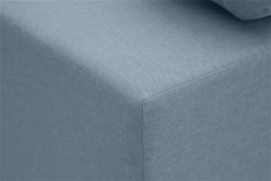 Прямой диван Чарли Dream Blue Текстура ткани