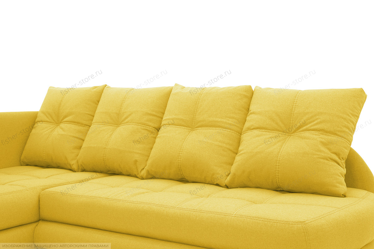 Угловой диван Мираж Dream Yellow Подушки