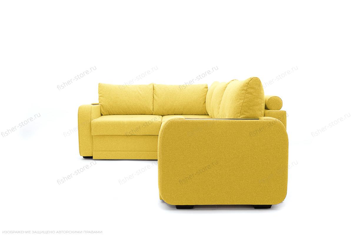 Двуспальный диван Диана Dream Yellow Вид сбоку