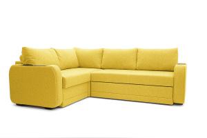 Двуспальный диван Диана Dream Yellow Вид по диагонали