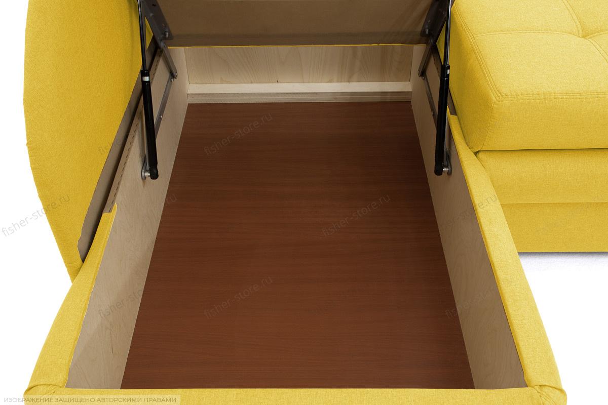 Угловой диван Мираж Dream Yellow Ящик для белья