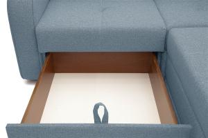 Угловой диван Диана Dream Blue Ящик для белья