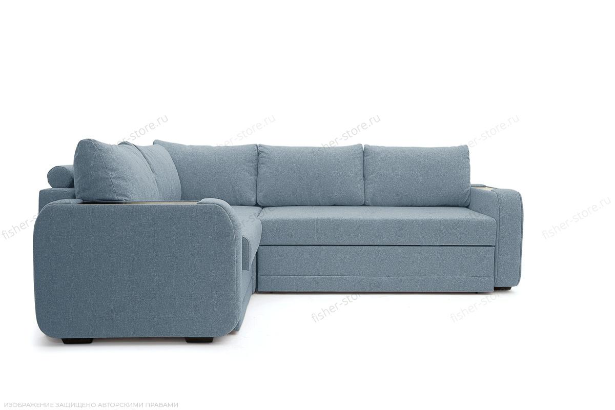 Угловой диван Диана Dream Blue Вид спереди