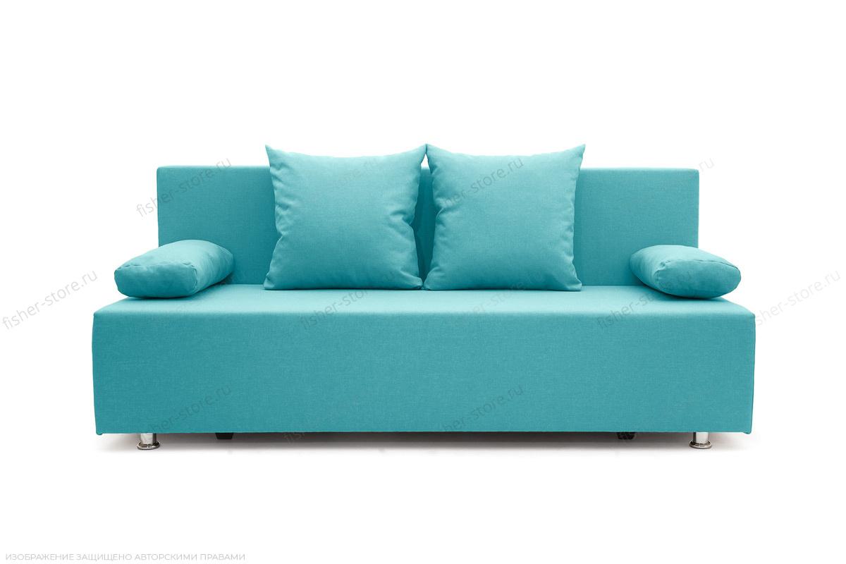 Прямой диван Чарли Dream Azure Вид спереди