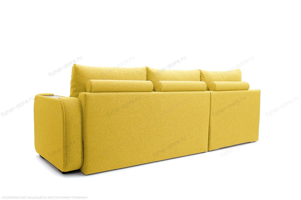 Двуспальный диван Диана Dream Yellow Вид сзади