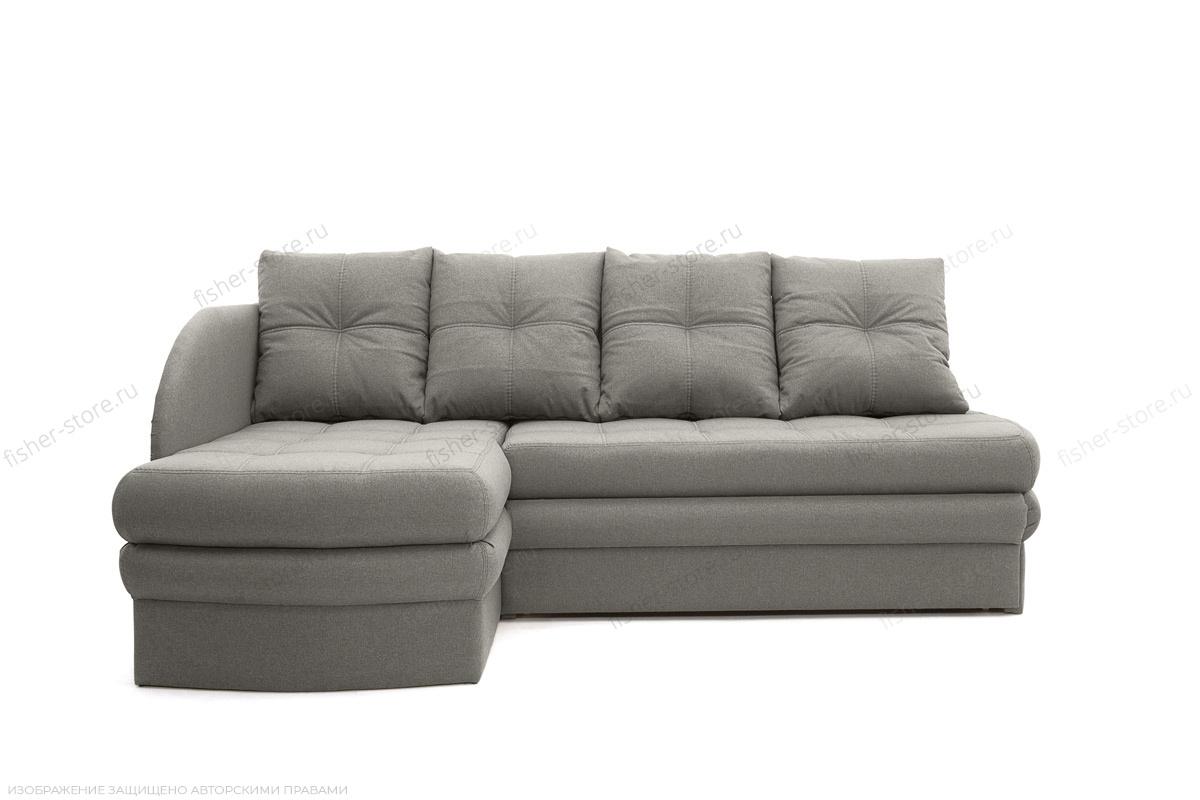 Угловой диван Мираж Dream Grey Вид спереди