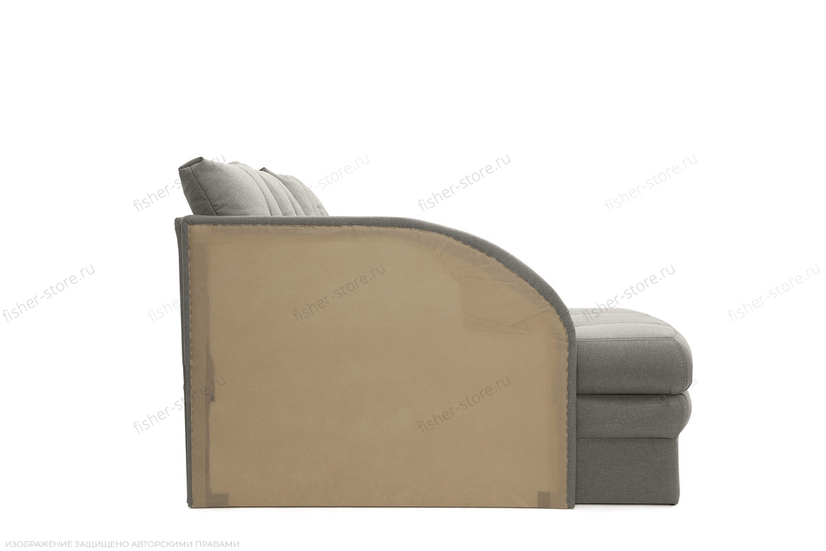 Угловой диван Мираж Dream Grey Вид сбоку