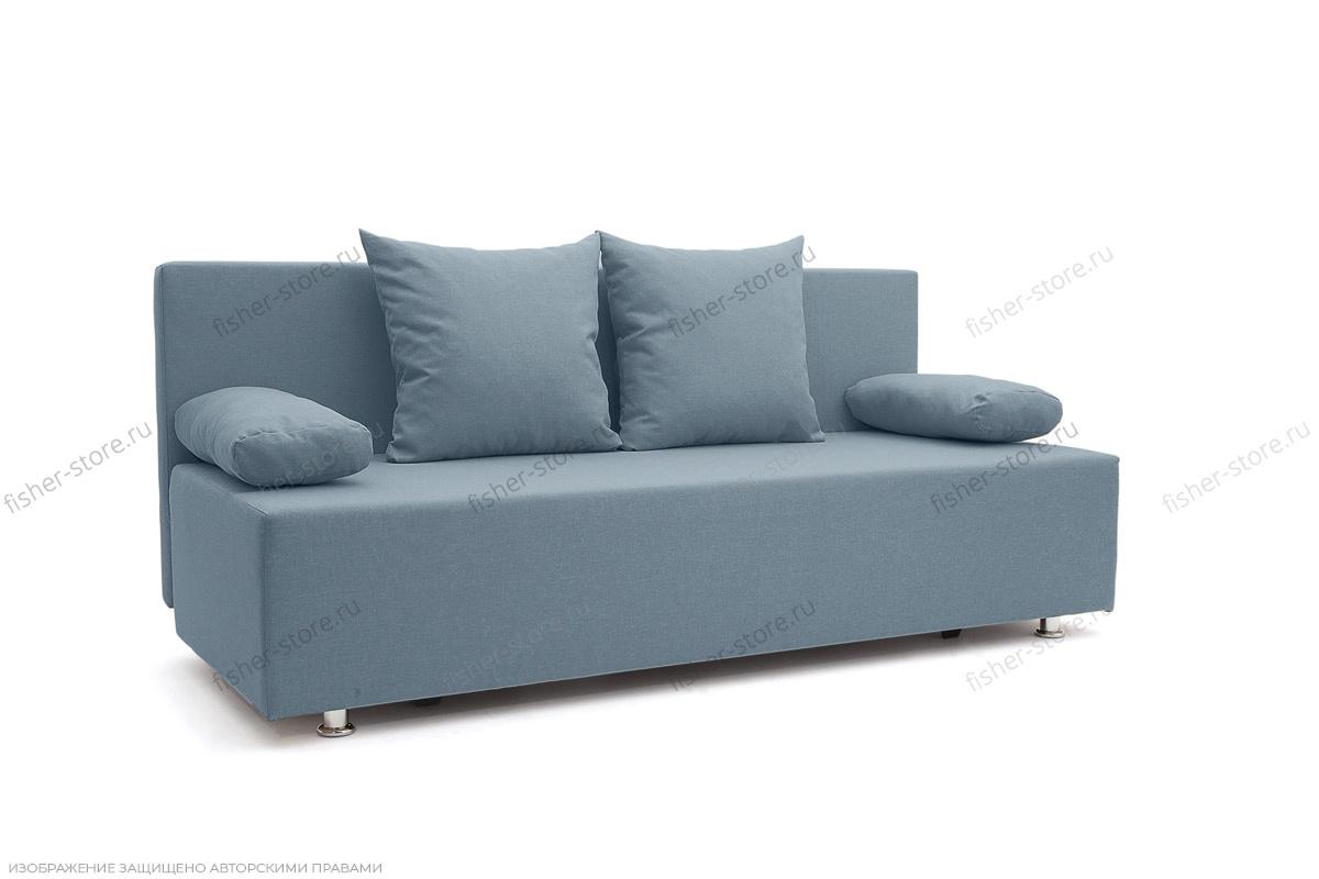 Прямой диван Чарли Dream Blue Вид по диагонали