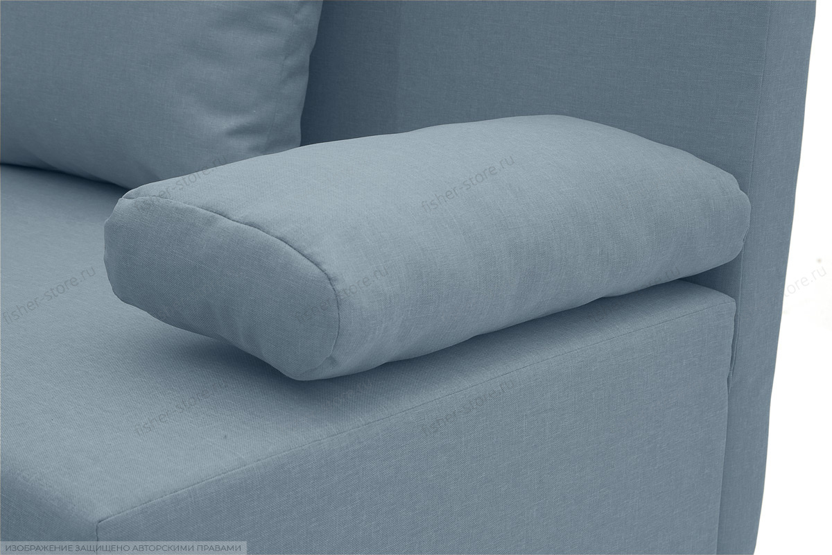 Прямой диван Чарли Dream Blue Подушки