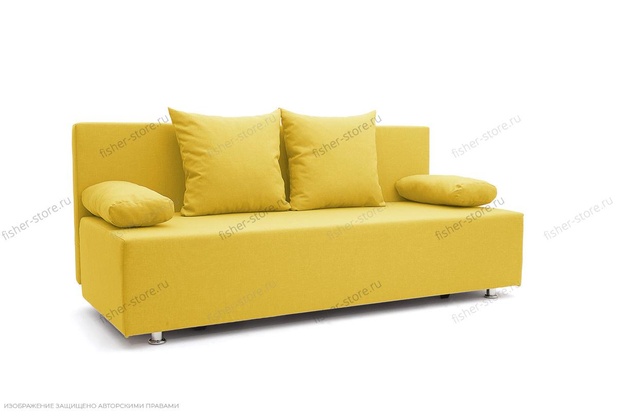 Прямой диван Чарли Dream Yellow Вид по диагонали