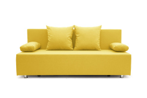 Прямой диван Чарли Dream Yellow Вид спереди