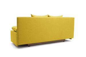 Прямой диван Чарли Dream Yellow Вид сзади